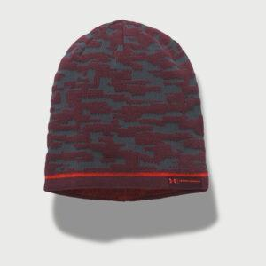 Čepice Under Armour Men's Rev Graphic Beanie Šedá - MVStore.cz